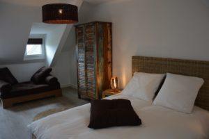 Photo d'une de nos chambres 2 personnes - Le Poulpiquet Quiberon