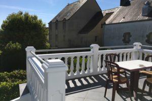 Vue depuis la terrasse du gîte - Location de vacances Quiberon