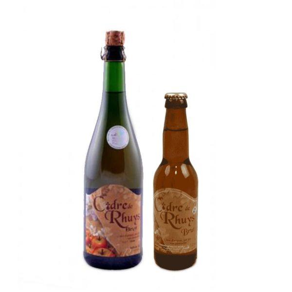 Cidre artisanal Brut - Cidrerie Nicol (56)